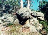 Triassic Age sandstone.